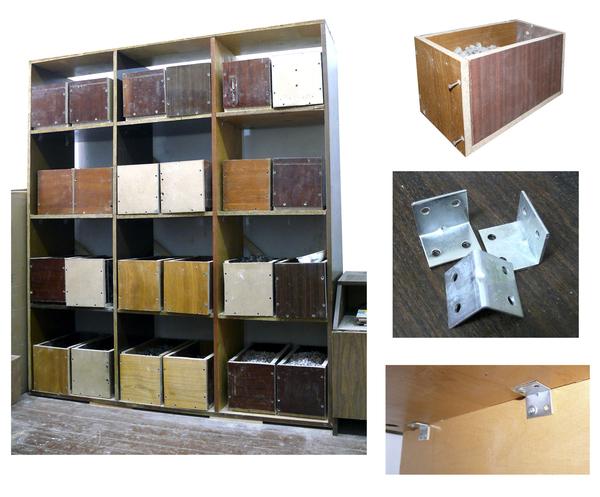 Строим сами. Стеллаж с ящиками для мастерской или гаража