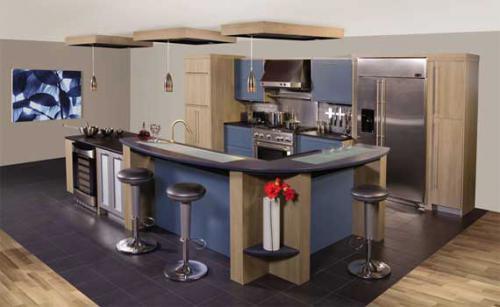 Идеи по дизайну G-образной кухни