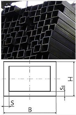 Труба стальная профильная квадратная