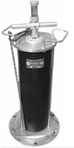 Прибор для измерения плотности грунта